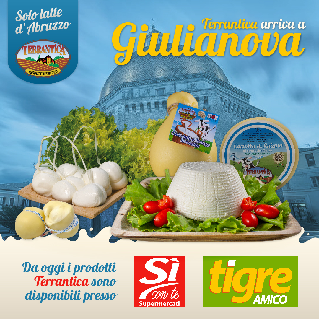 Comunicato Stampa: Nuovi Punti Vendita Terrantica a Giulianova (TE)