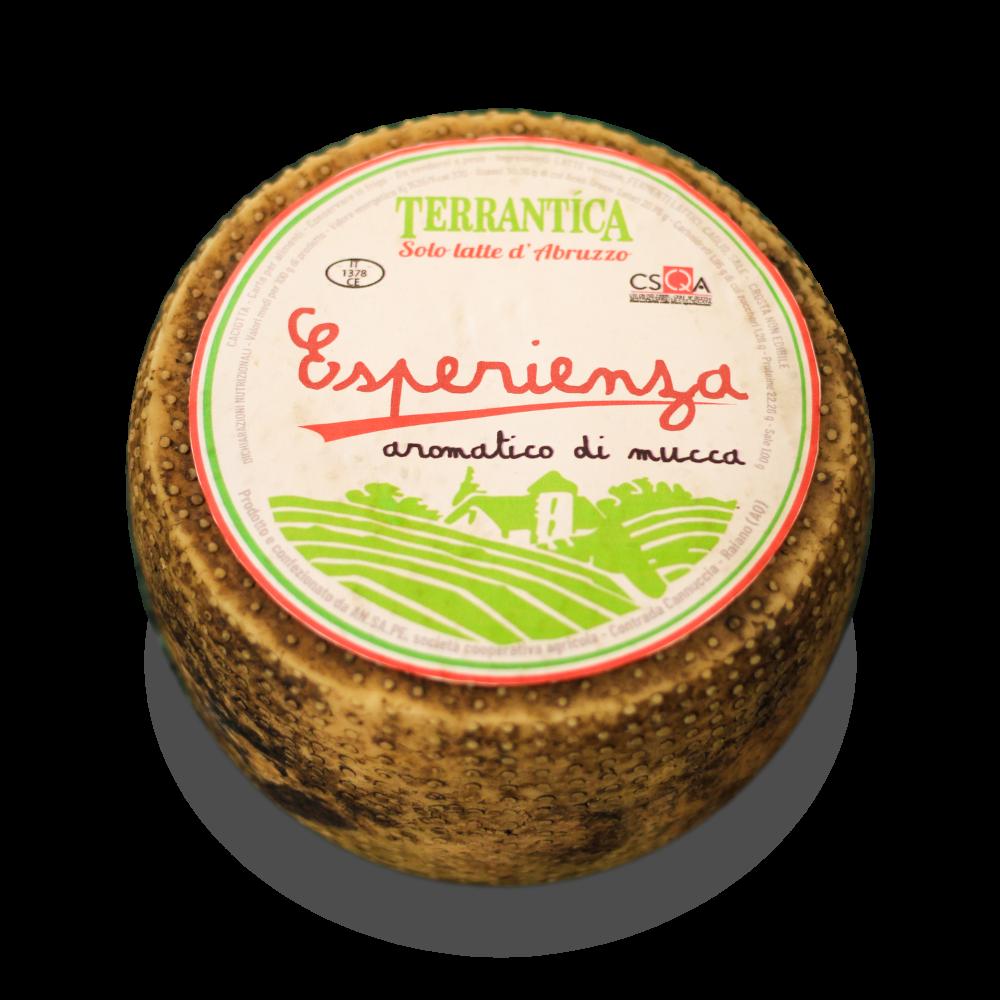 Esperienza Terrantica - Caciotta di mucca aromatizzata