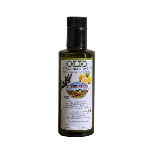 Olio extravergine d'oliva al limone | Terrantica